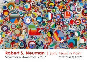 'Sixty Years in Paint' at Childs Gallery