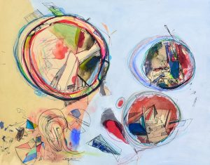 Neuman at Art on Paper with Childs Gallery